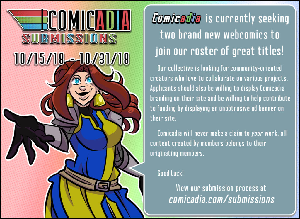 Join Comicadia!